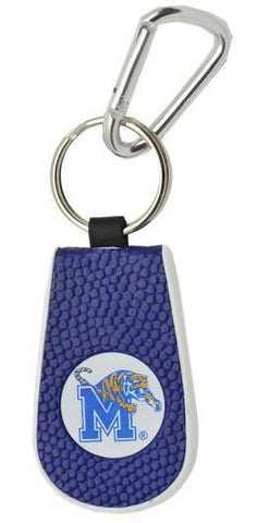 Memphis Tigers Team Color Basketball Keychain