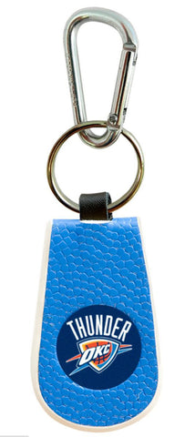 Oklahoma City Thunder Team Color Keychain