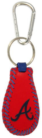 Atlanta Braves Team Color Keychain