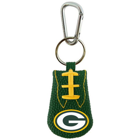 Green Bay Packers Team Color Keychain