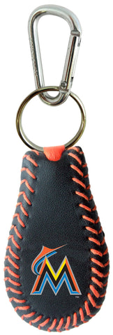Miami Marlins Team Color Keychain