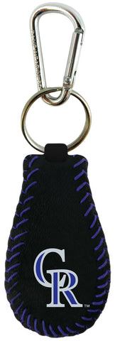 Colorado Rockies Team Color Keychain