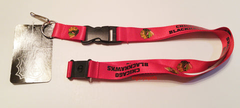 "Chicago Blackhawks 24"" Lanyard"