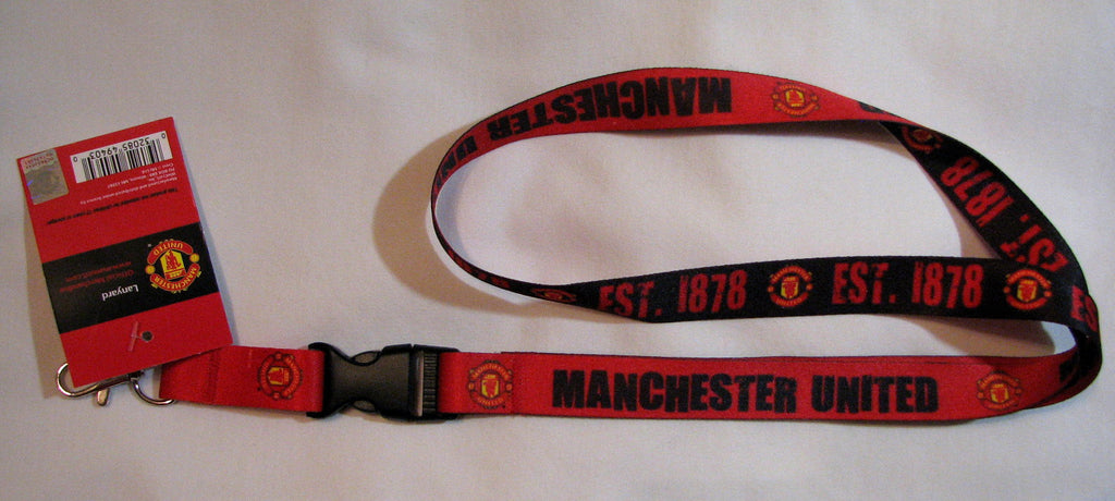 "Manchester United Red Devils 22"" Lanyard with Detachable Buckle"