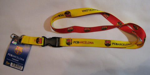 "FC Barcelona 22"" Lanyard with Detachable Buckle"