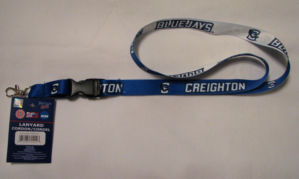 "Creighton Bluejays 22"" Lanyard with Detachable Buckle"