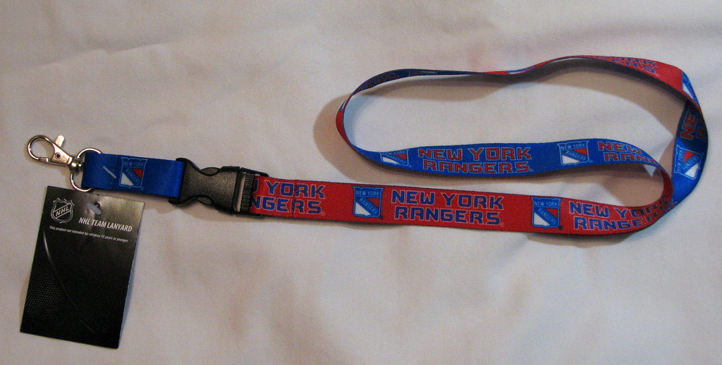 "New York Rangers 22"" Lanyard with Detachable Buckle"