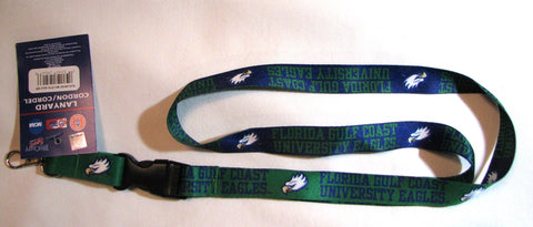 "Florida Gulf Coast Eagles 22"" Lanyard with Detachable Buckle"