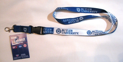 "Butler Bulldogs 22"" Lanyard with Detachable Buckle"