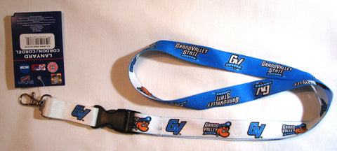 "Grand Valley State Lakers 22"" Lanyard with Detachable Buckle"