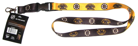 "Boston Bruins 22"" Lanyard with Detachable Buckle"