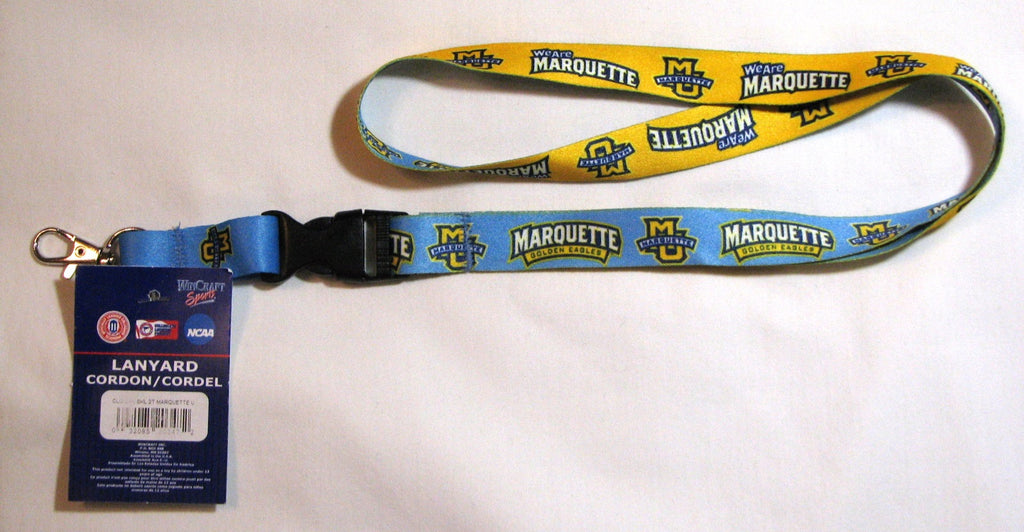 "Marquette Golden Eagles 22"" Lanyard with Detachable Buckle"