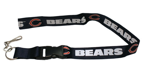 "Chicago Bears 24"" Breakaway Lanyard - Navy"