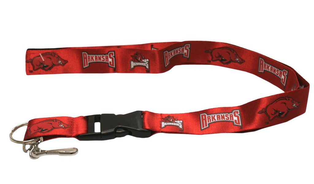 "Arkansas Razorbacks 24"" Breakaway Lanyard"