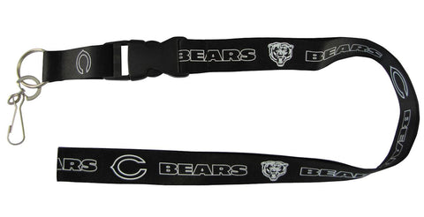 "Chicago Bears 24"" Breakaway Lanyard - Blackout"