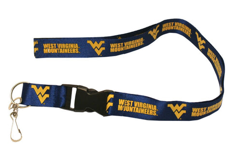 "West Virginia Mountaineers 24"" Breakaway Lanyard"
