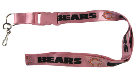 "Chicago Bears 24"" Breakaway Lanyard - Pink"