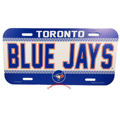 Toronto Blue Jays Plastic License Plate