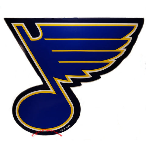 "St. Louis Blues 12"" Car Magnet"
