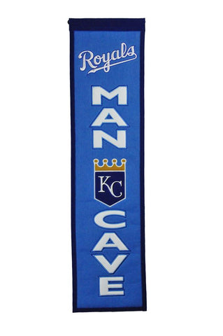 "Kansas City Royals 8""x32"" Wool Heritage Banner"
