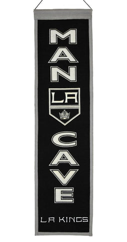 "Los Angeles Kings 8""x32"" Wool Man Cave Banner"