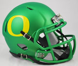 Oregon Ducks Riddell Speed Mini Helmet - Apple Green Alternate