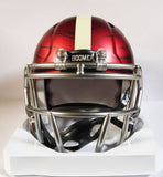 Oklahoma Sooners Riddell Speed Mini Helmet - Bring The Wood Hydro Red 3