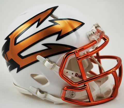 Arizona State Sun Devils Riddell Speed Mini Helmet - Desert Ice