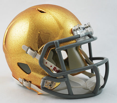 Notre Dame Fighting Irish Riddell Speed Mini Helmet - HydroFX