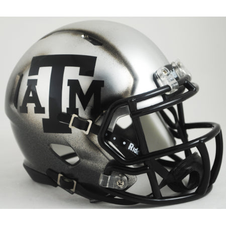 Texas A&M Aggies Riddell Speed Mini Helmet - Ice Hydro