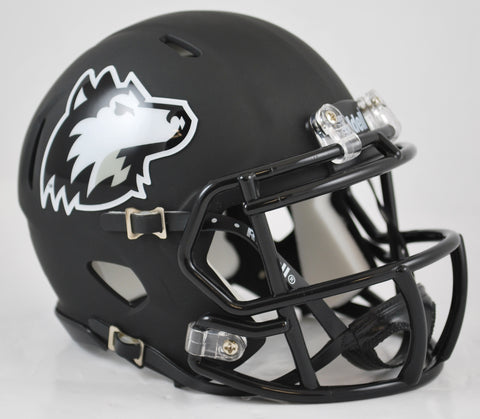 Northern Illinois Huskies Riddell Speed Mini Helmet - Matte Black