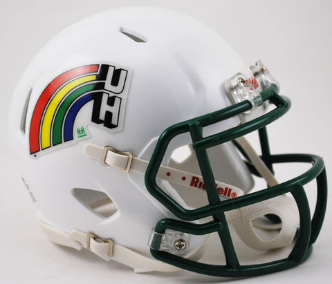 Hawaii Warriors Riddell Speed Mini Helmet - Retro Style