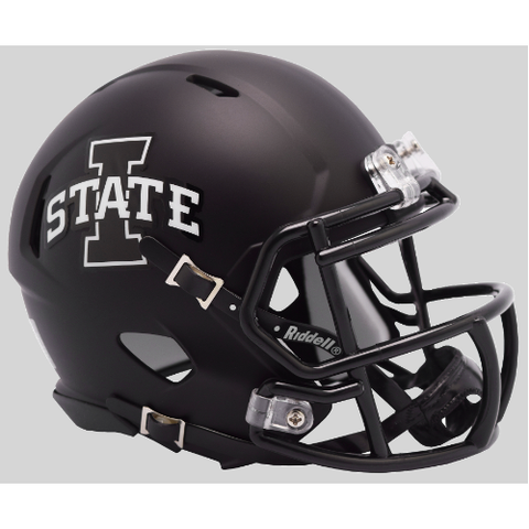 Iowa State Cyclones Riddell Speed Mini Helmet - Satin Black