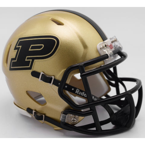 Purdue Boilermakers Riddell Speed Mini Helmet