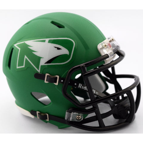North Dakota Fighting Hawks 2017 Style Riddell Speed Mini Helmet