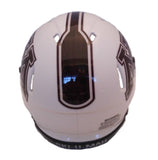 Minnesota Golden Gophers Riddell Speed Mini Helmet - 2018 White back