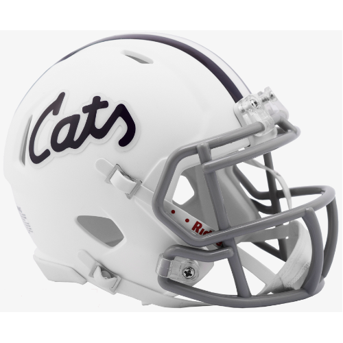 Kansas State Wildcats Riddell Speed Mini Helmet - Cats Alternate