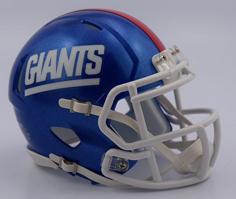 New York Giants 2016 Color Rush Riddell Speed Mini Helmet