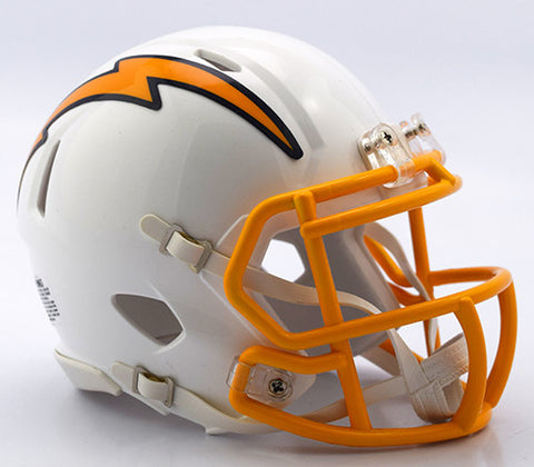 San Diego Chargers 2016 Color Rush Riddell Speed Mini Helmet