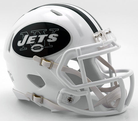 New York Jets 2016 Color Rush Riddell Speed Mini Helmet