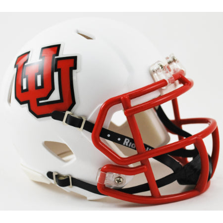 Utah Utes Riddell Speed Mini Helmet - Interlocking U