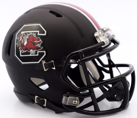 South Carolina Gamecocks Riddell Speed Mini Helmet - Matte Black