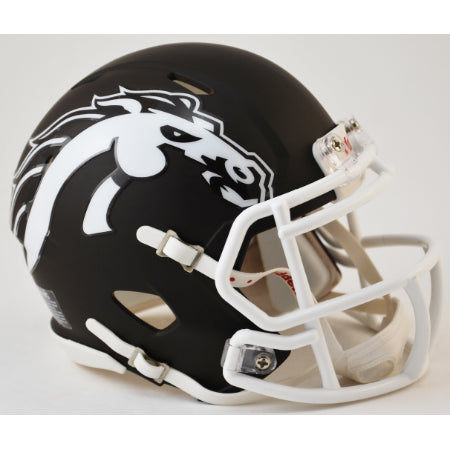 Western Michigan Broncos Riddell Speed Mini Helmet - Matte Brown