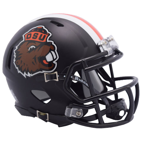 Oregon State Beavers Retro Benny Riddell Speed Mini Helmet
