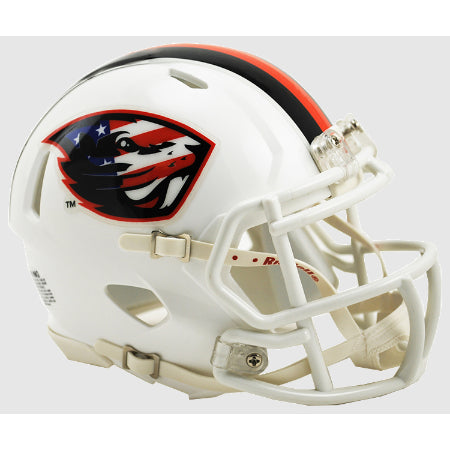 Oregon State Beavers Riddell Speed Mini Helmet - Stars & Stripes Logo