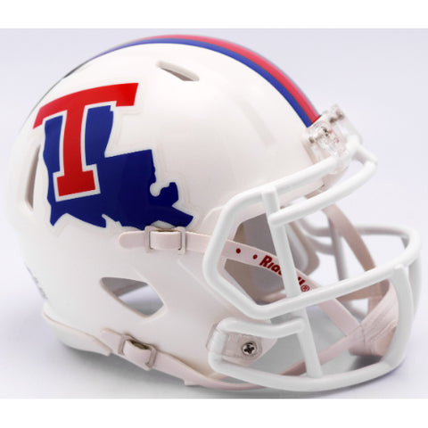 Louisiana Tech Bulldogs Riddell Speed Mini Helmet
