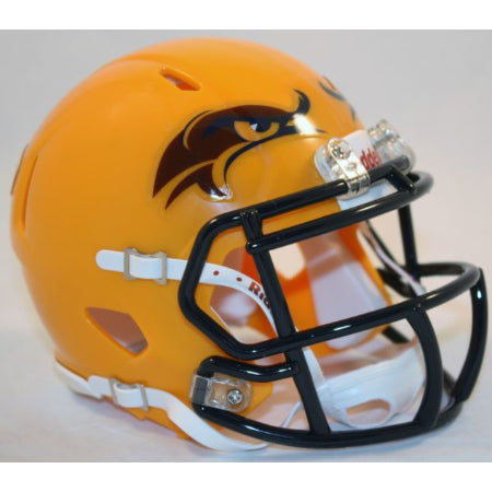 Kent State Golden Flashes Yellow Alternate Riddell Speed Mini Helmet