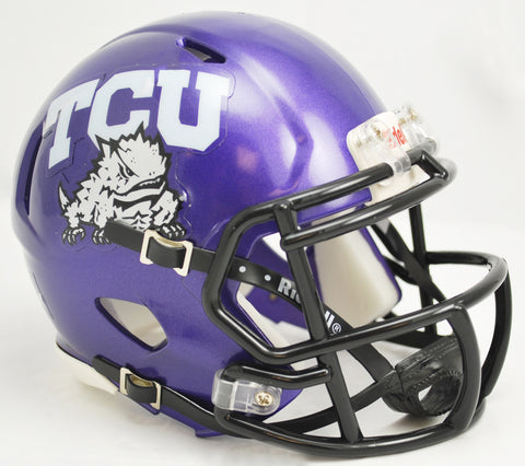 TCU Horned Frogs Riddell Speed Mini Helmet