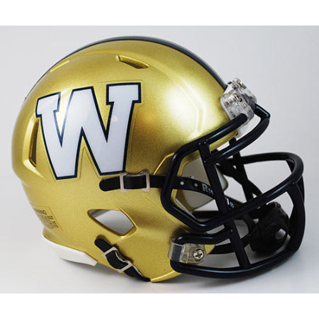Winnipeg Blue Bombers Riddell Speed Mini Helmet