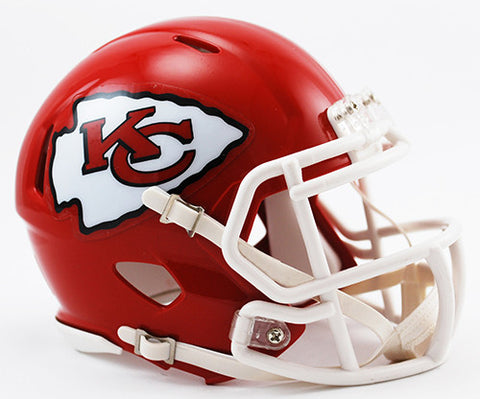 Kansas City Chiefs Riddell Speed Mini Helmet